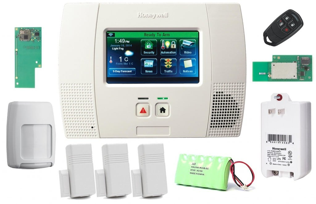 Honeywell Wireless Lynx Touch L5200 Home Automation Security Alarm Kit