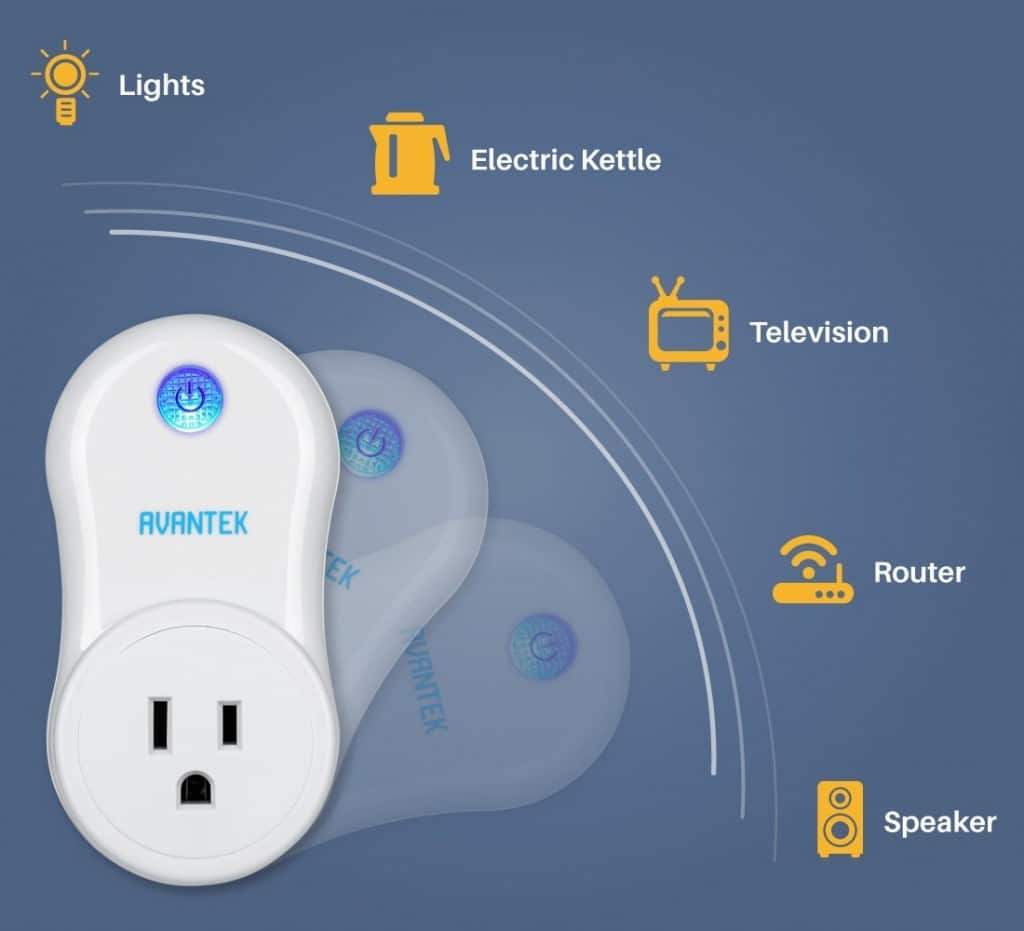 Wireless Electrical Smart Plugs for Lights