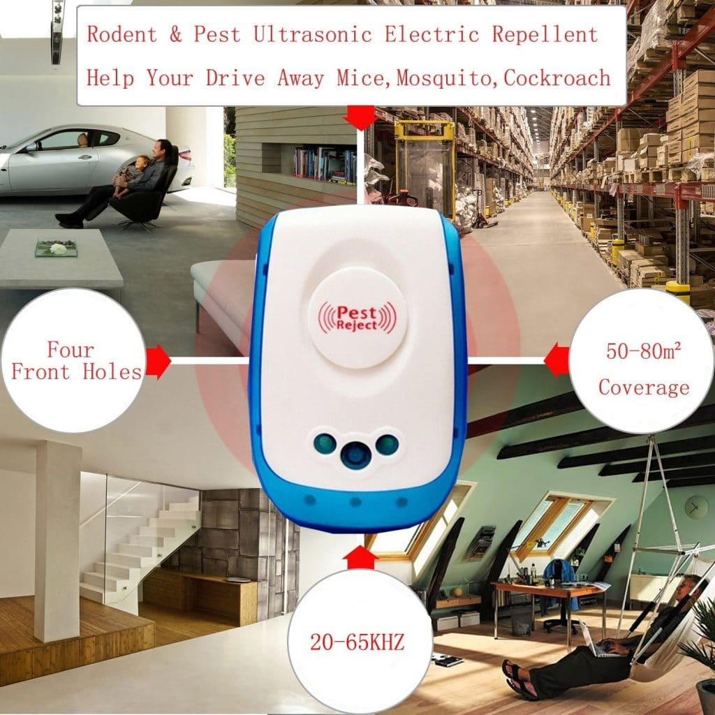 Home I Home Ultrasonic Indoor Pest & Insect Repellent